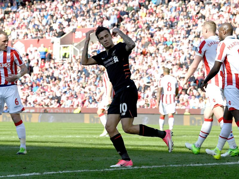 Coutinho equalled his record goal tally for a Premier League season with nine: Getty