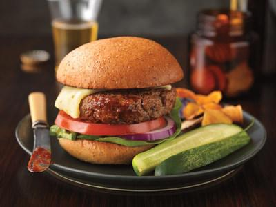 Zesty Barbecue Cheeseburger