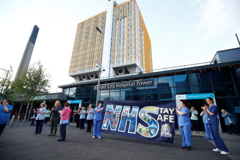 Northern Ireland set for new restrictions as COVID-19 hits Belfast hospitals