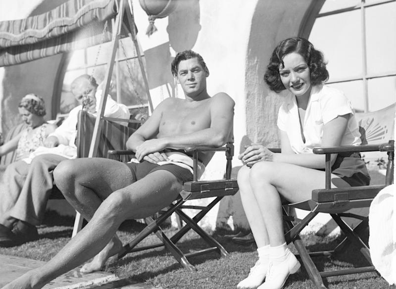 Johnny Weismuller y Lupe Velez. Foto: Getty Images