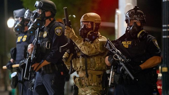 Portland's mayor said the presence of federal officers was leading to more violence