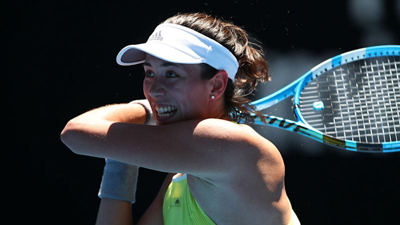 Muguruza makes light work of Cirstea in Qatar
