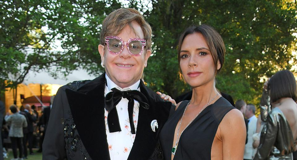 Victoria Beckham attend the Argento Ball for the Elton John AIDS Foundation in association with BVLGARI & Bob and Tamar Manoukian on June 27, 2018 in Windsor, England.  (Photo by David M. Benett/Dave Benett/Getty Images for BVLGARI and EJAF)