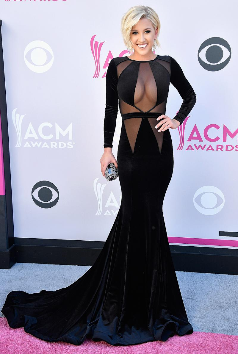 Savannah Chrisley Makes First Red Carpet Appearance After