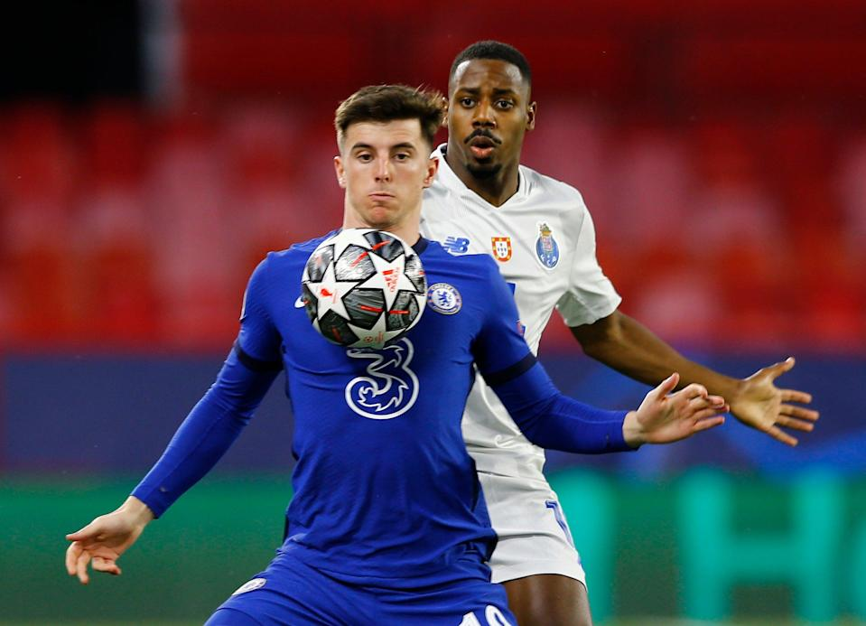 Mason Mount in action against Porto in the Champions League (Reuters)