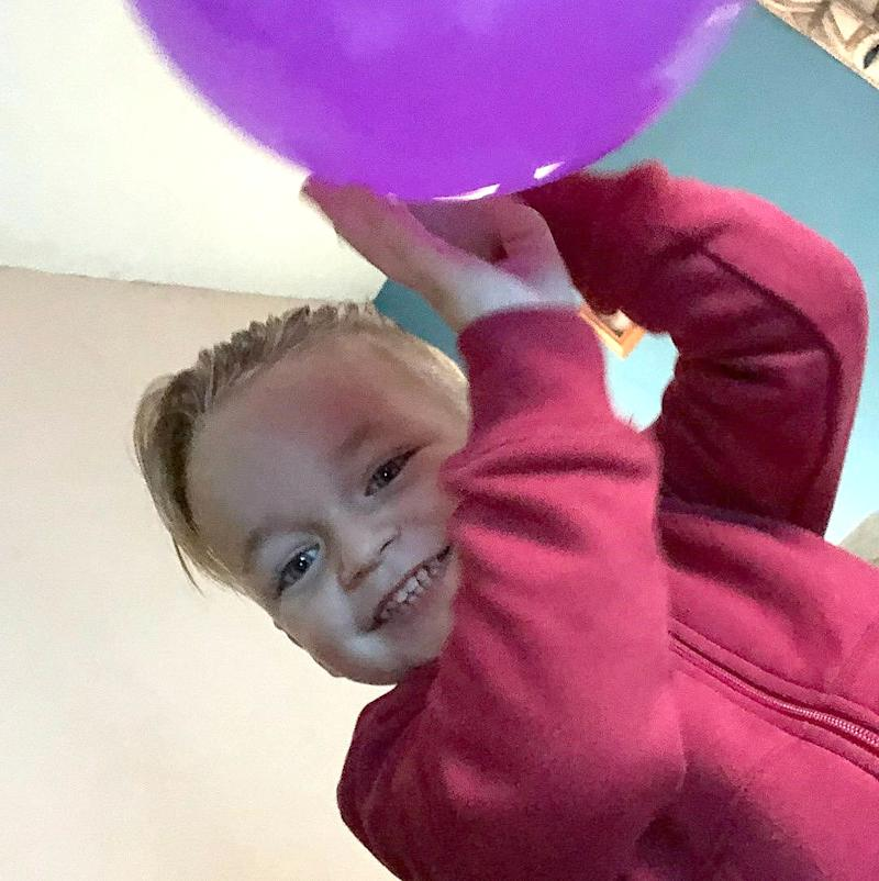 Undated family handout file photo of three-year-old Alfie Lamb, whose mother Adrian Hoare has been jailed for two years and nine months. (Metropolitan Police)