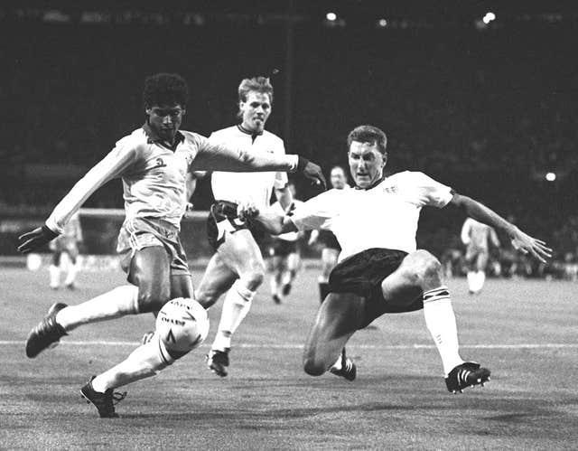 Terry Butcher played 77 times for England