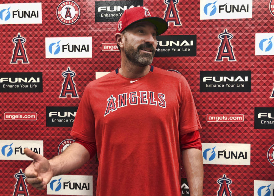 Angels pitching coach Mickey Callaway is accused of harassing multiple women across three jobs in MLB. He was previously the Mets manager and Indians pitching coach.