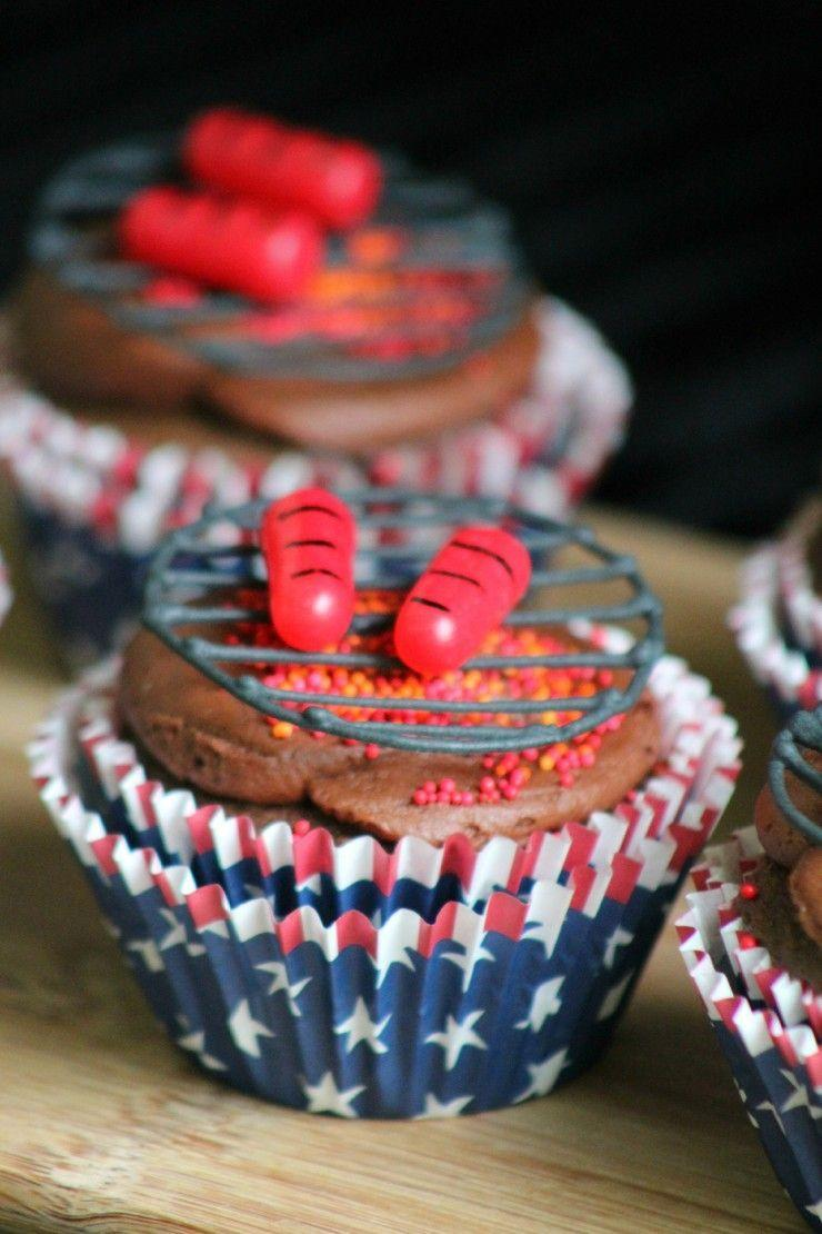 """<p>Bring these adorable treats to become the MVP of the potluck BBQ. Don't be intimidated; these """"grills"""" are actually just tinted royal icing with candies on top. </p><p><em><a href=""""http://www.lifeloveliz.com/2016/05/23/bbq-cupcakes/"""" rel=""""nofollow noopener"""" target=""""_blank"""" data-ylk=""""slk:Get the recipe from Life Love Liz »"""" class=""""link rapid-noclick-resp"""">Get the recipe from Life Love Liz »</a></em></p><p><strong>RELATED: </strong><a href=""""https://www.goodhousekeeping.com/food-recipes/g413/great-grilling-recipes/"""" rel=""""nofollow noopener"""" target=""""_blank"""" data-ylk=""""slk:60+ Grill Recipes That Will Be Your New Summer Favorites"""" class=""""link rapid-noclick-resp"""">60+ Grill Recipes That Will Be Your New Summer Favorites</a></p>"""