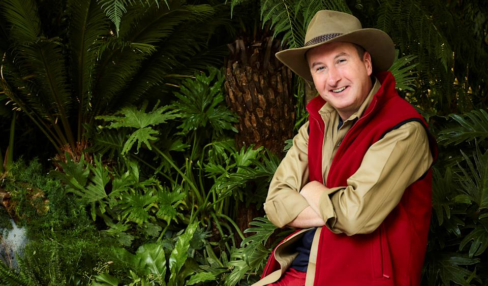 Andy Whyment took part in I'm A Celebrity... Get Me Out Of Here! in December 2019. (ITV)