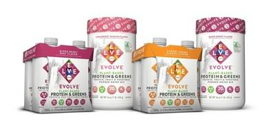 New EVOLVE® Protein & Greens products