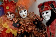 """<p><strong>When</strong>: Feb. 8-25</p> <p>Head to Venice during <a href=""""http://www.carnevale.venezia.it/en"""" class=""""link rapid-noclick-resp"""" rel=""""nofollow noopener"""" target=""""_blank"""" data-ylk=""""slk:Carnevale di Venezia"""">Carnevale di Venezia</a>, a two-week celebration that turns this waterside city into a circus spectacular. What makes this party so magical is that carnevale-goers wander around dressed in elaborate masks and clothing replicating nobility and attend masquerade balls and events, including processions and a best-masked costume competition. </p> <p>The origins of this festival are said to date back to 1162, when Venice won a major victory over the Patriarch of Aquileia and the locals gathered to celebrate and dance within San Marco Square. This occasion became a Venetian tradition that would continue until being strictly forbidden in 1797. Luckily, it was fully restored in 1979.</p>"""