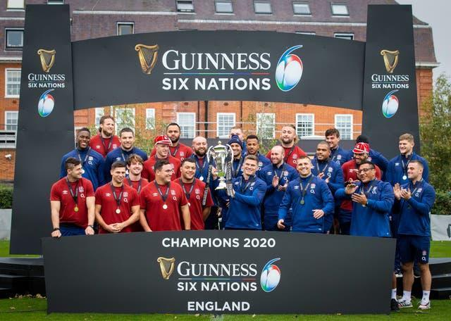 England were belatedly crowned 2020 Six Nations winners (handout/PA)