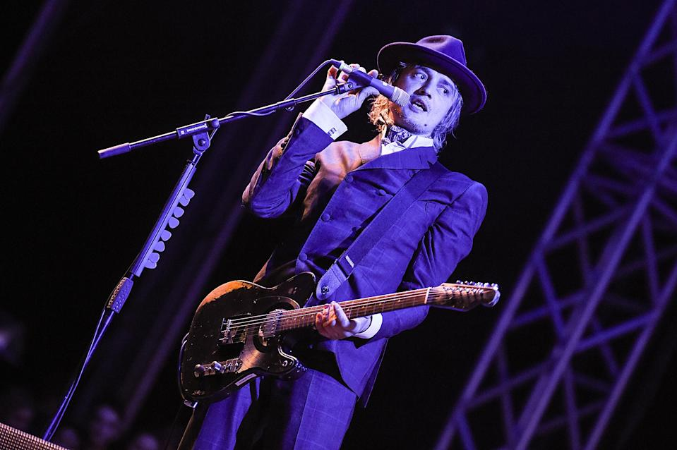 Pete Doherty of The Libertines performs on the Common stage during Victorious Festival at Southsea Seafront on August 24, 2018 in Portsmouth, England. (Photo by Tabatha Fireman/Getty Images)