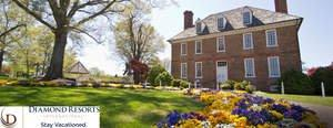 Diamond Resorts in Williamsburg, VA Offers Travel Back in Time