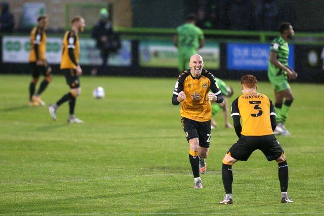 Forest Green Rovers v Newport County – Sky Bet League Two – Semi Final – Second Leg – The New Lawn