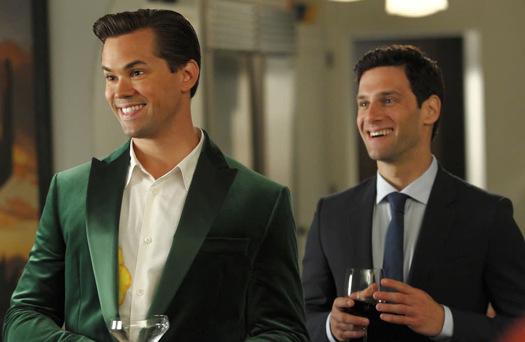"Bryan (Andrew Rannells) and David (Justin Bartha), ""The New Normal"" (2012)"