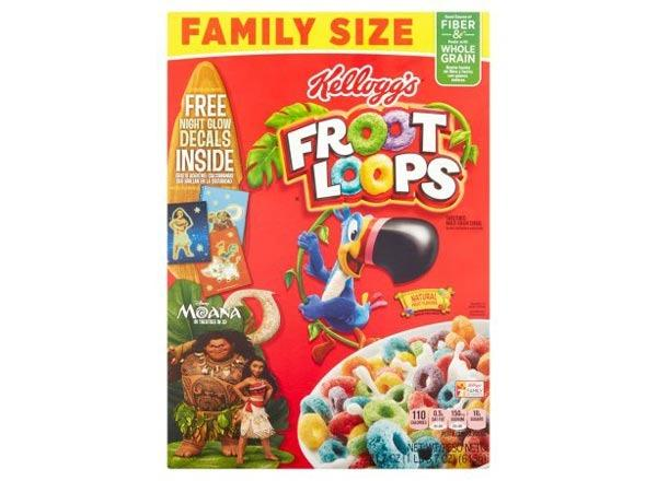 kelloggs froot loops whole grain cereal