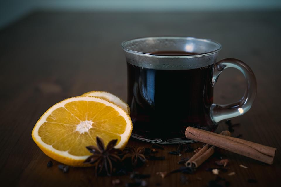 """<p>If you're a person who thinks paracetamol, ibuprofen and the rest don't work, try a glass of mulled wine. An essential oil called eugenol found in cloves has the <a href=""""http://www.colgate.com/en-us/oral-health/conditions/dental-emergencies-and-sports-safety/clove-oil-for-toothache-pain-0316"""" rel=""""nofollow noopener"""" target=""""_blank"""" data-ylk=""""slk:effect of a local anaesthetic"""" class=""""link rapid-noclick-resp"""">effect of a local anaesthetic</a>, helping treat minor problems such as toothache. <i>[Photo: Getty]</i> </p>"""