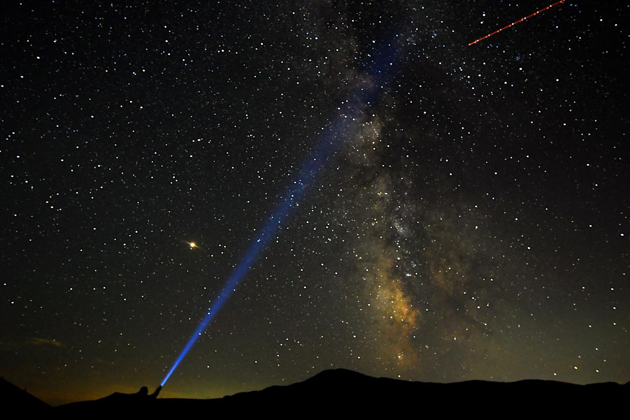 Starstruck: Perseid meteor shower returns to night sky