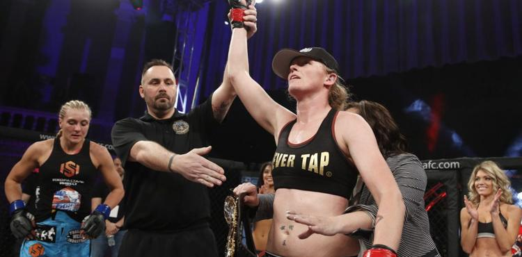 Tonya Evinger Returns to Bantamweight at UFC Fight Night Austin