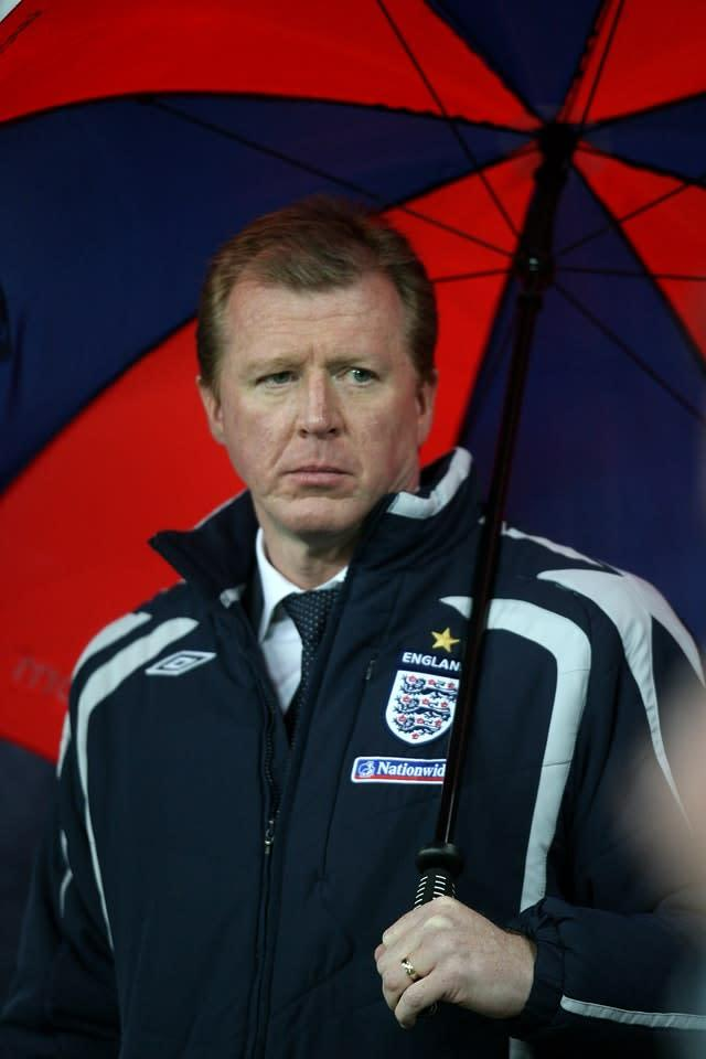 McClaren moved to Holland after flopping as England manager (Martin Rickett/PA)