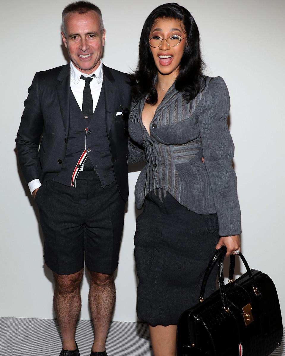 """<h1 class=""""title"""">September 30: Thom Browne and Cardi B</h1> <div class=""""caption""""> New office dress code. </div> <cite class=""""credit"""">Getty Images</cite>"""