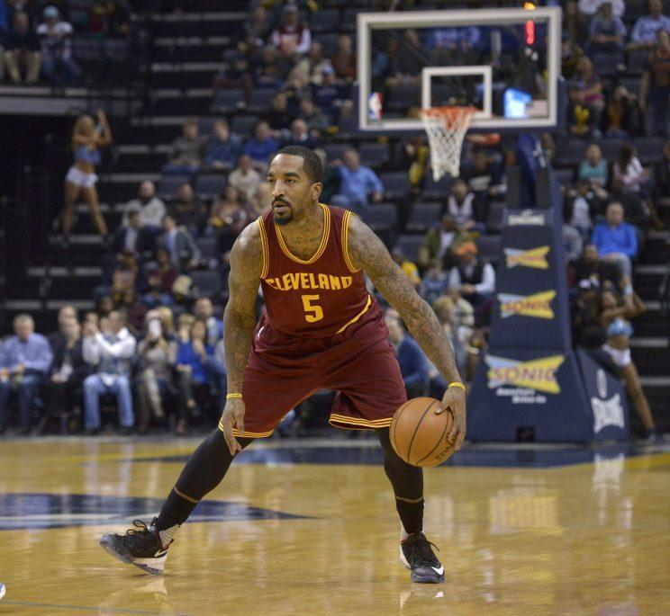 GM David Griffin acquired J.R. Smith in January 2015. (AP)
