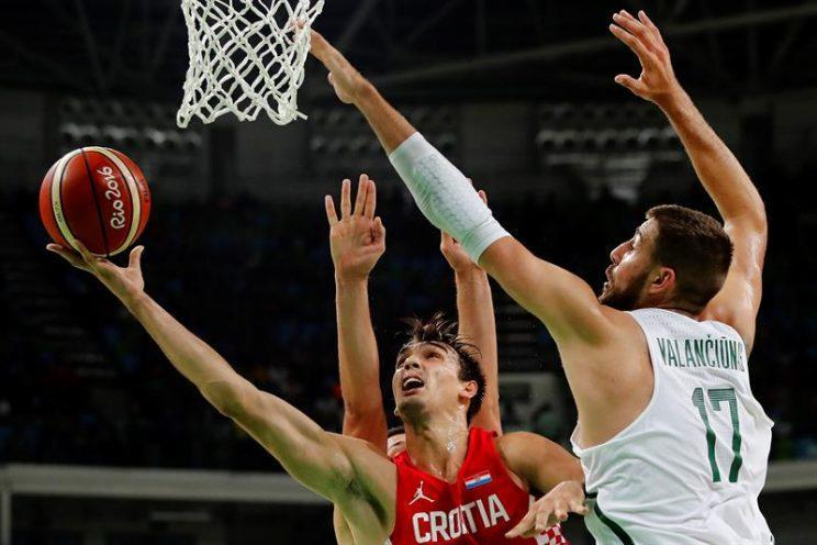 Dario Saric has emerged as one of the most exciting players at the Olympics (EFE/JORGE ZAPATA).
