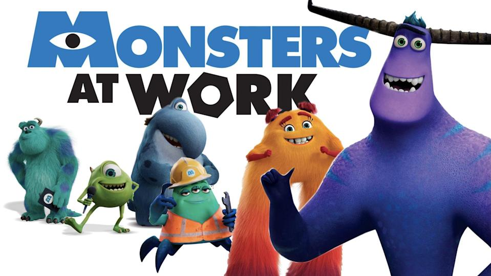 The 'Monsters Inc.' spin-off, 'Monsters at Work' tells the story of the maintenance team at Monsters, Incorporated.
