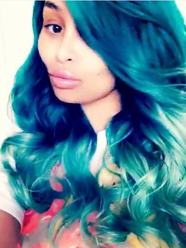 Can Blac Chynas Hair Please Be The Something Blue At Her Wedding