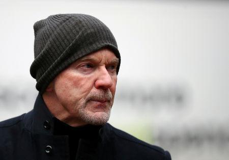FILE PHOTO: Former Barclays' banker Roger Jenkins arrives at Southwark Crown Court in London, Britain, January 23, 2019. REUTERS/Hannah McKay