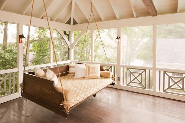 Stylish Diy Porch Swings For Outdoor
