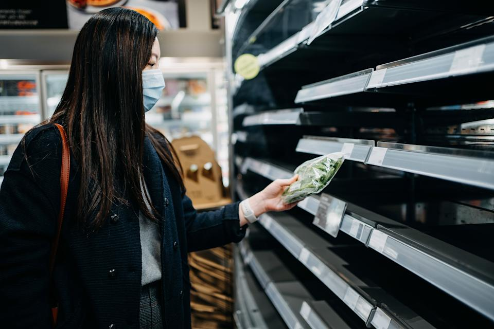 Going to the market is particularly stressful for Asian Americans, who are being racially profiled over the coronavirus. (Photo: d3sign via Getty Images)