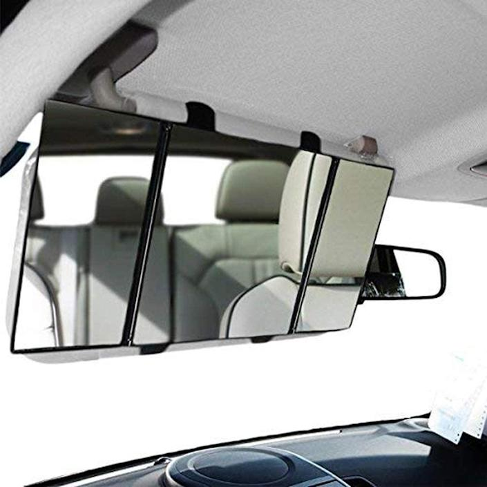 <p>The <span>Zone Tech Car Folding Visor Vanity Mirror</span> ($11) is oh-so geek and glam!</p>