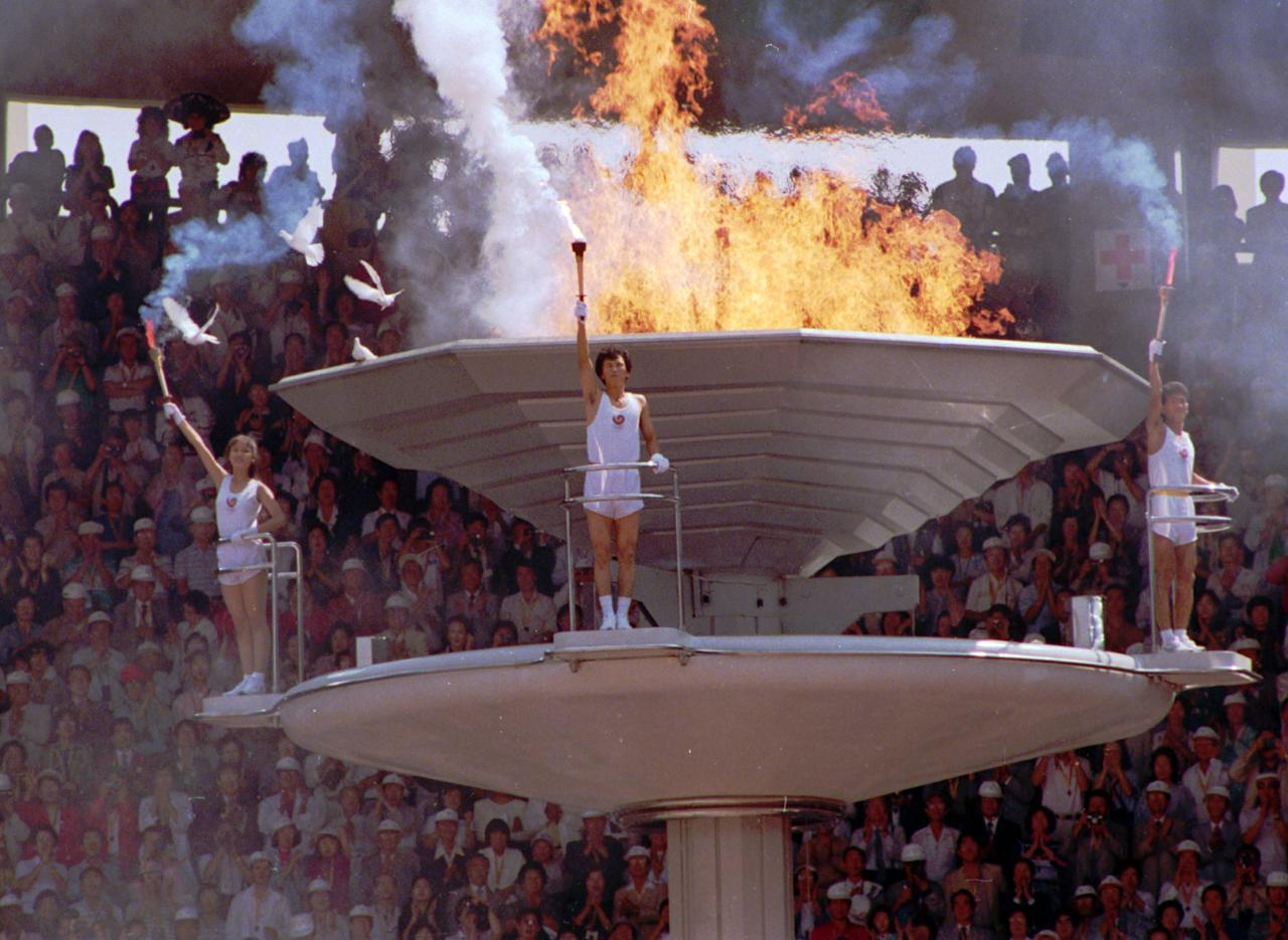 <p>There's a reason you don't see many white doves flying during the Opening Ceremony. During 1988 Olympics in Seoul, South Korea, a group of ceremonial doves were released and flew to the nearby cauldron. Moments later as the flame was ignited, the world watched in horror as some of the birds burned alive. </p>