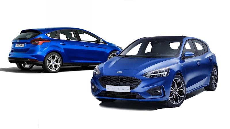 2019 Ford Focus Side By