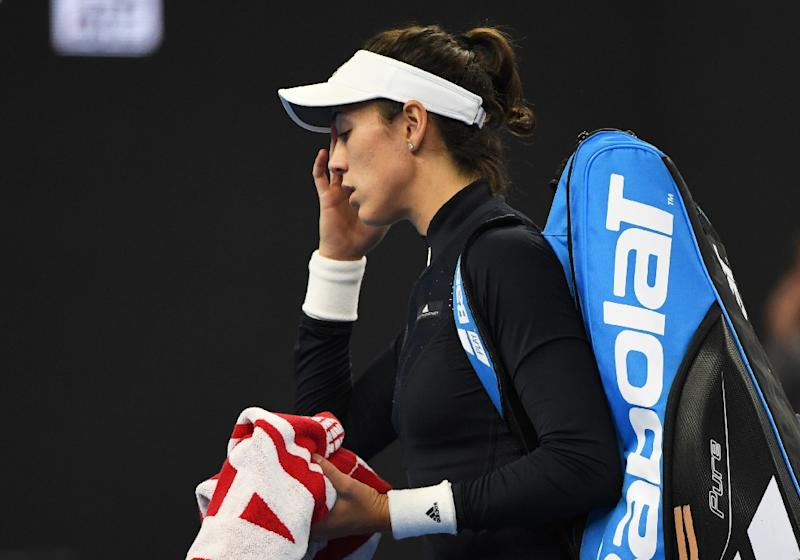 Virus-hit Garbine Muguruza retires in China Open first round