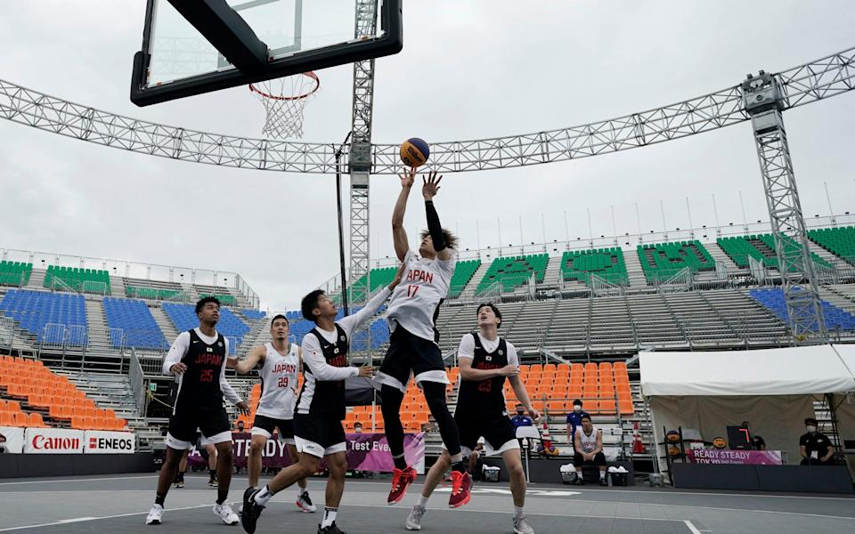 It's basketball, but even less players - AP