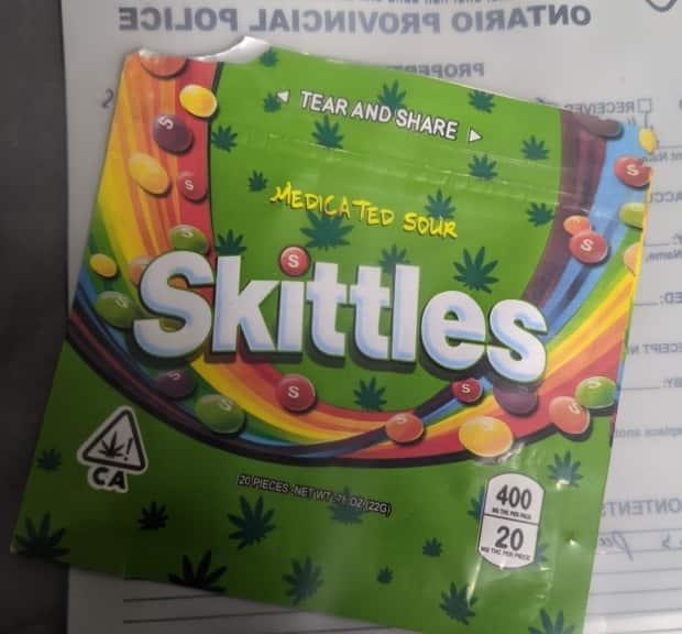 A man has been charged after his young daughter ingested a 'high quantity' of cannabis edibles. The bag, labelled 'Medicated Sour Skittles,' contained 400 milligrams of THC, the principal psychoactive constituent of cannabis.