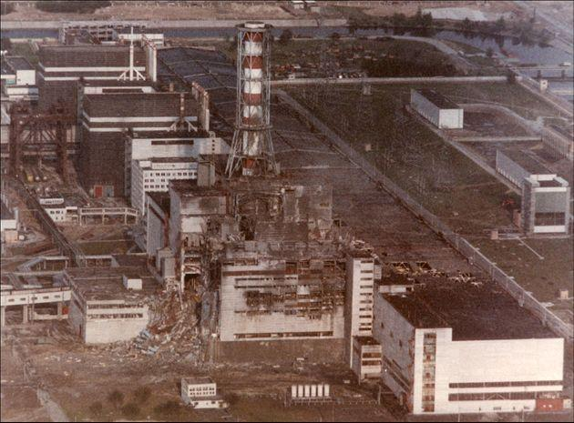 CHERNOBYL, UKRAINE- APRIL 29: View of the Chernobyl Nuclear power plant three days after the explosion on April 29, 1986 in Chernobyl:,Ukraine. (Photo by SHONE/GAMMA/Gamma-Rapho via Getty Images) (Photo: SHONE via Getty Images)