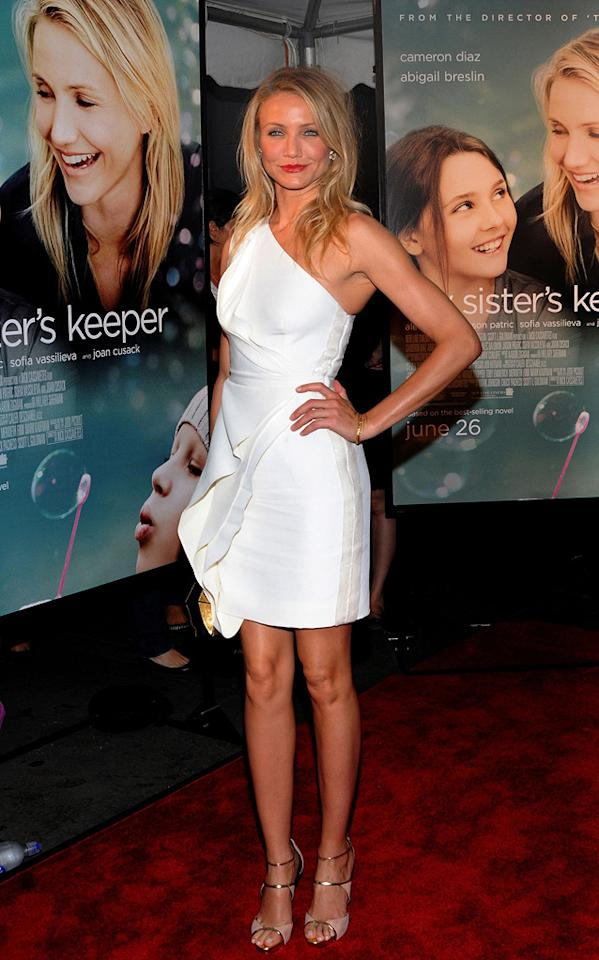 """<a href=""""http://movies.yahoo.com/movie/contributor/1800020297"""">Cameron Diaz</a> at the New York City premiere of <a href=""""http://movies.yahoo.com/movie/1810003155/info"""">My Sister's Keeper</a> - 06/24/2009"""
