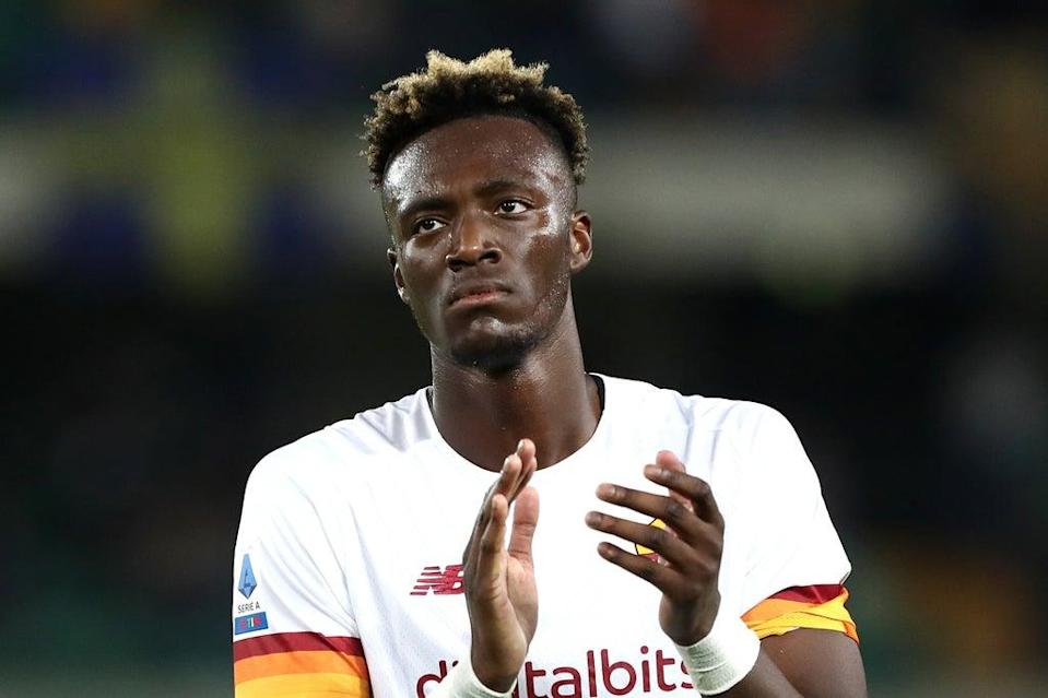 Tammy Abraham has already scored four times in 10 appearances for Roma after leaving Chelsea  (Getty Images)