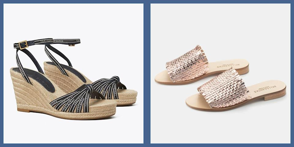 """<p>With summer on the horizon, it's finally time to shake off the dregs of winter chills and spring showers and bring on a taste of sunny-season fashion. And of course, nothing says """"summer is here"""" quite like unleashing those toes in a pair of new seasonal shoes. </p><p>Whether you're looking for a way to glam up your footwear game after a year of athleisure, comfy options for your everyday errands, or the perfect shoes to pack for that long-awaited <a href=""""https://www.townandcountrymag.com/leisure/travel-guide/a35998207/what-is-a-vaxication/"""" rel=""""nofollow noopener"""" target=""""_blank"""" data-ylk=""""slk:vaxication"""" class=""""link rapid-noclick-resp"""">vaxication</a>, here are the styles on our list for summer. </p>"""