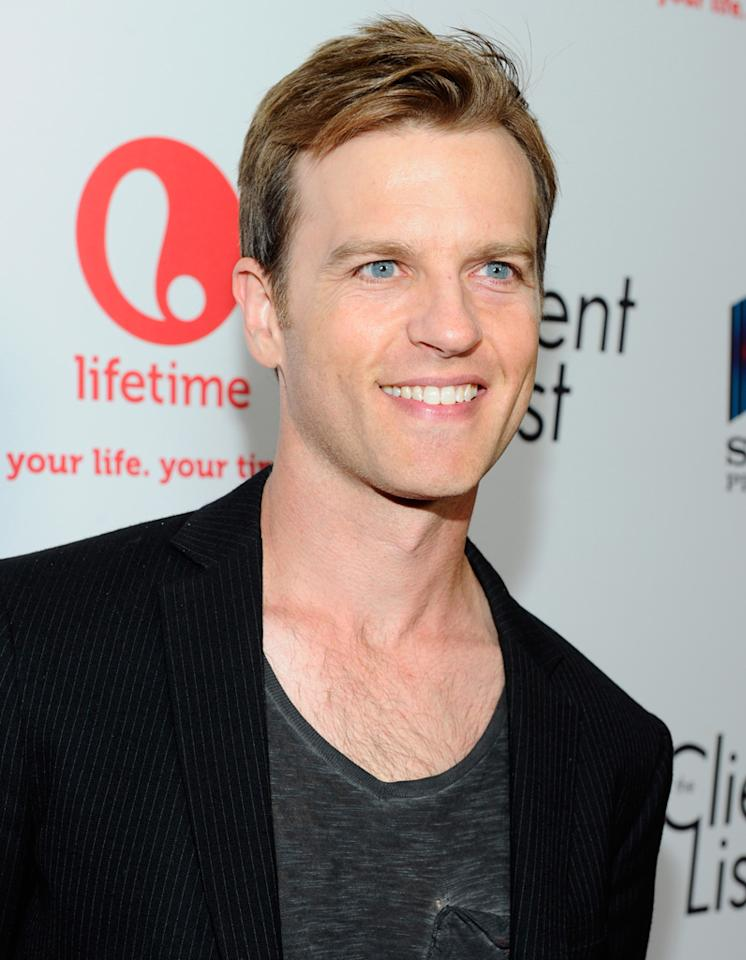 "Trevor St. John attends the launch party for Lifetime's ""<a href=""http://tv.yahoo.com/client-list/show/47678"">The Client List</a>"" at Sunset Tower on April 4, 2012 in West Hollywood, California."