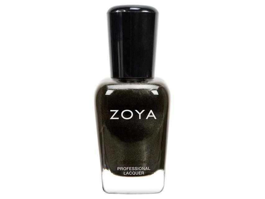 """<p>You're feeling more introverted than usual, as you are reflecting and thinking about the events of the past few months. A black metallic shade for your nails is an ideal choice to help you clear the canvas and paint a new story — whenever you're ready to get out of hibernation.</p> <p><strong>To shop: </strong>$10; <a href=""""https://www.amazon.com/ZOYA-Polish-Claudine-Fluid-Ounce/dp/B00E91I2K6/ref=as_li_ss_tl?ie=UTF8&linkCode=ll1&tag=isbeuhaircolorsforlibraseasonlstardustsep20-20&linkId=91a3a5148467957839f046d775afdbce"""" rel=""""nofollow noopener"""" target=""""_blank"""" data-ylk=""""slk:amazon.com"""" class=""""link rapid-noclick-resp"""">amazon.com</a></p>"""