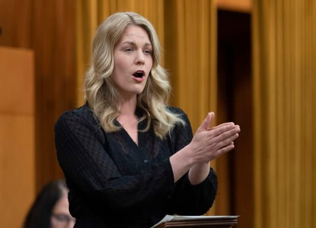 Conservative MP Rachael Harder asked whether the CRTC would have the power to regulate the algorithms used by social media companies to decide what type of content people see.