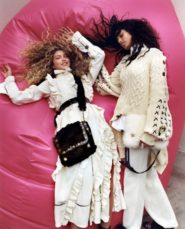 <p><strong>Photographer: </strong>Zoë Ghertner <br><strong>Starring:</strong> Imaan Hammam, Dorit Revelis <br><strong>Inspiration: </strong>The free-spirited woman<br>(Photo: Courtesy of Zoë Ghertner/Sonia Rykiel) </p>