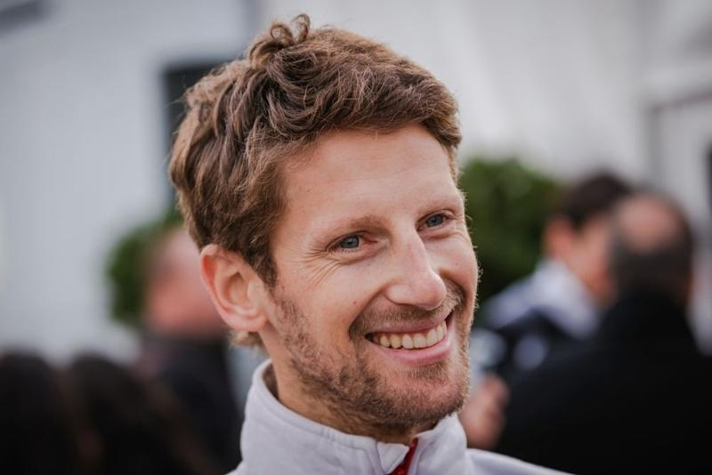 Formula One Driver Romain Grosjean has made a pit stop at the bitcoin garage after receiving a signed copy of