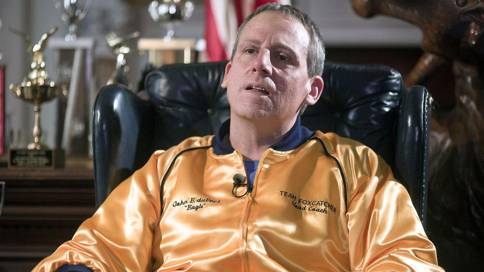 Steve Carell as John du Pont in 'Foxcatcher'. (Credit: Sony Pictures Classics)